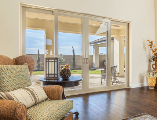 French Rail Sliding Patio Door