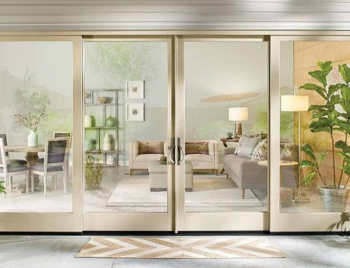 Four Panel Patio Doors