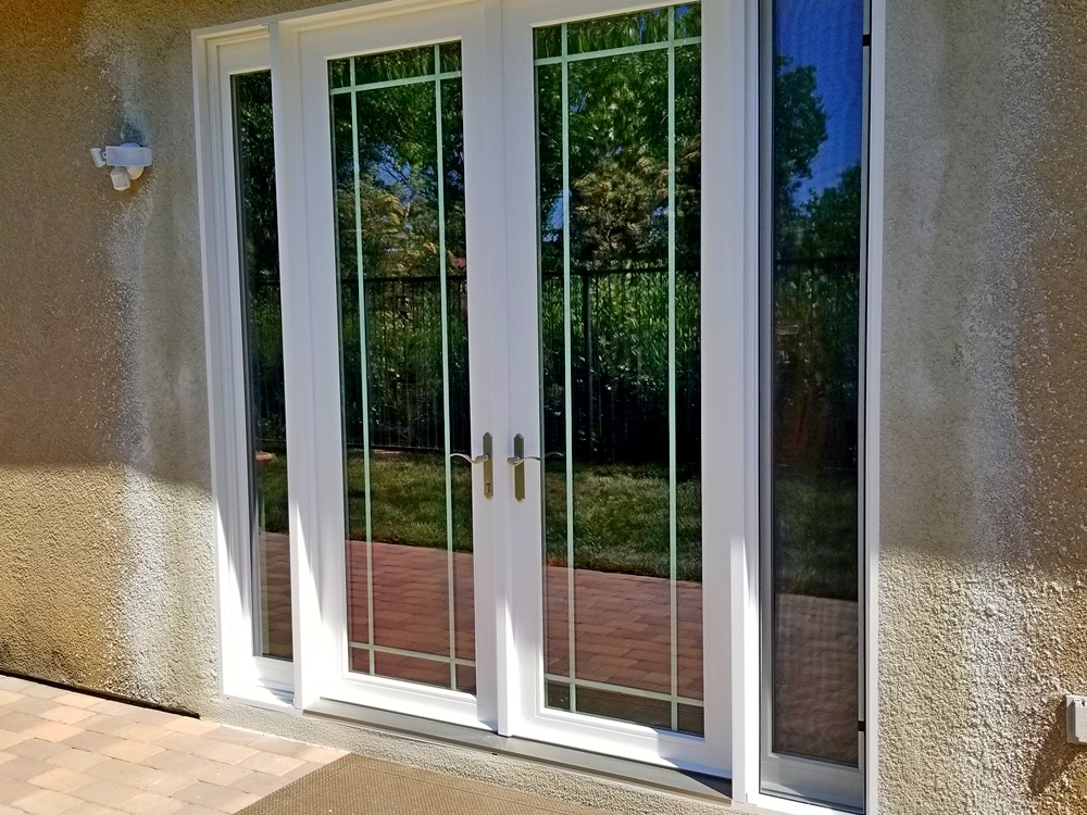 sliding glass door