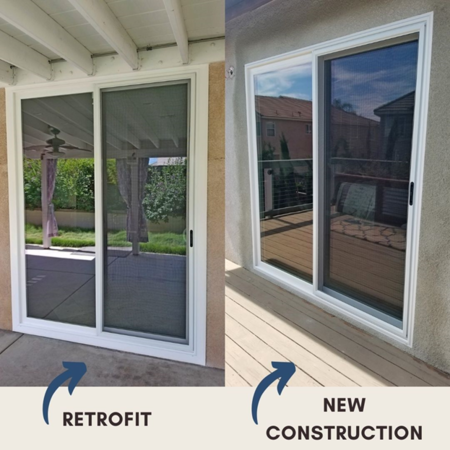 The Difference Between Retrofit Windows and New Construction