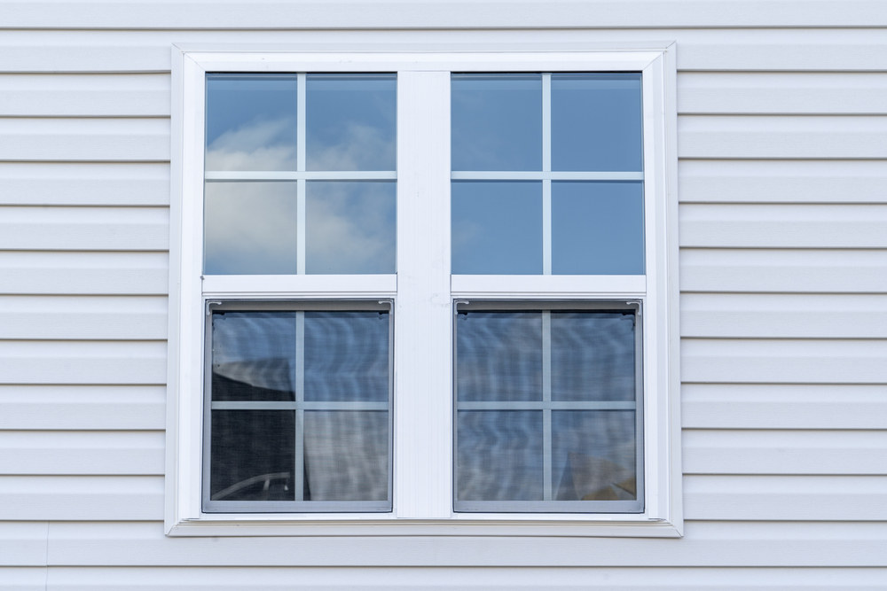 Double hung window (window parts)